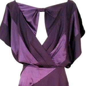 Jessica Simpson aubergine cocktail dress size 14